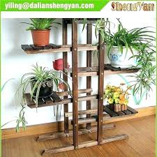 61 best plant stands images on decks gardening and throughout wooden plant shelf prepare