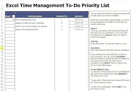 Daily Task List Template Excel Demiks Co