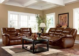 wall paint with brown furniture. Awesome Brown Theme Paint Colors For Small Living Rooms With Dark Cream Wall Color Furniture