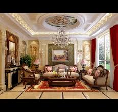 Interior And Exterior Designer Best Deluxe Living Room Interior Design With Crystal Lamp Interior