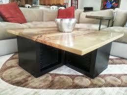 granite coffee table. Granite Coffee Table With EXPEDIT Wall Shelf And Lack Top Sofa