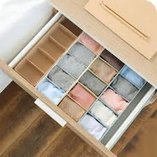 Image is loading Solid-5-Cell-Plastic-Underwear-Bra-Sock-Tie-