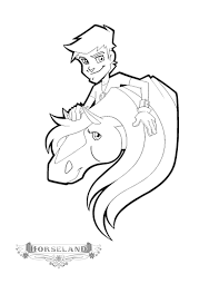 Small Picture Horseland Coloring Pages Coloringpages1001com