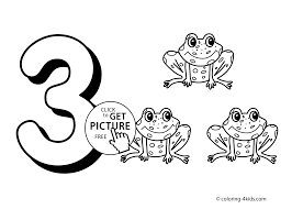 Coloring Book Number Pages For Kids Page Unusual Inspiration Ideas