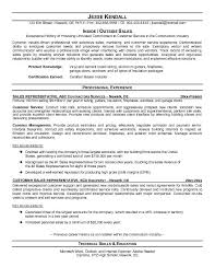 sample of sales resume Impressive Inside Sales Rep Resume Samples :  Vinodomia