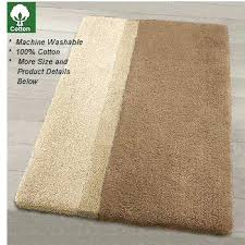 cotton bath rugs non slip luxury in extra large sizes for bathroom design with latex backing cotton bath rugs