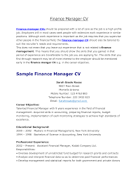 appealing finance manager resume for job description expozzer appealing finance manager resume for job description