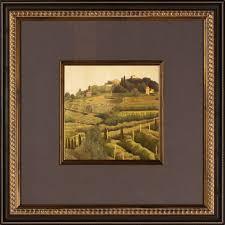 tuscan hillside b framed wall art