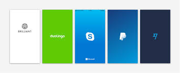 Best Splash Page Designs Building The Perfect Splash Screen Ux Collective