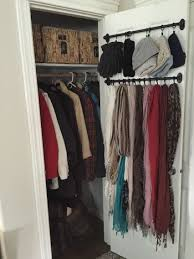 Image Hall Closet Small Coat Closet Organizing Outerwear In Compact Space No Mudroom No Problem Pinterest Small Coat Closet Organizing Outerwear In Compact Space No