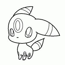 Small Picture Pokemon Espeon Coloring Pages Coloring Coloring Pages