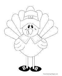 Small Picture Printable Thanksgiving coloring book pages 05