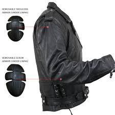 Кожаные байкерские куртки xelement xs 5890 armored black leather classic biker jacket