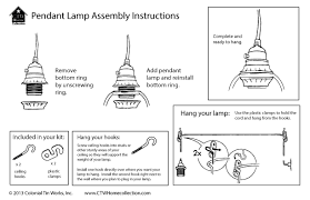 how to install pendant lighting. hereu0027s how to assemble your pendant lamps when you receive them install lighting g