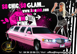 Rose Limosine Location Limousine Rose Louer Limousine Rose Sur Nice 06