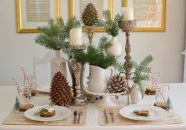 christmas table dressing ideas. Rustic Christmas Table Decorations Dressing Ideas D