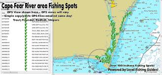 12 Punctual Profinder Fishing Chart