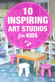 i want an art studio for my kids