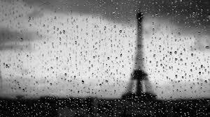 black and white rain wallpaper. Brilliant Black Eiffel Tower Water Black And White Rain Drops Wallpaper On Black And White Rain Wallpaper WallpaperUP