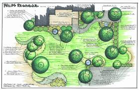 Small Picture Contemporary Landscape Plan Drawing 3 Landscape Master Plans On