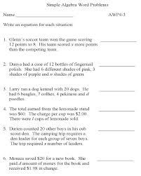collection of math equations word problems worksheets them and try to solve algebraic algebra worksheet
