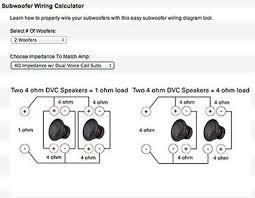 dual voice coil subwoofer wiring diagram facbooik com Sub Wiring Diagrams dual voice coil wiring diagram subwoofer wiring diagrams speaker sub wiring diagram crutchfield