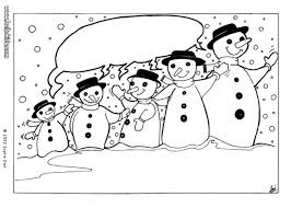 Small Picture Happy snowman family coloring pages Hellokidscom