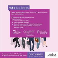 edkins corporate training limited presents career edkins corporate training limited