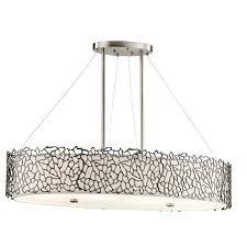 elstead silver c oval island ceiling light pendant kl silc isle elstead lighting kichler lighting luxury lighting