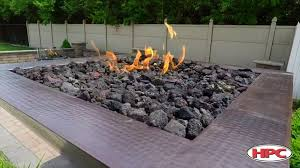 fire pit outdoor lava rock you with regard to regarding gas rocks plans 19