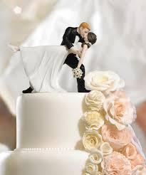 A Romantic Dip Dancing Bride And Groom Couple Figurine Wedding