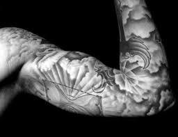 tattoo sleeve designs clouds. Brilliant Clouds Sleeve Mens Cloud Tattoo Design Inspiration For Designs Clouds S