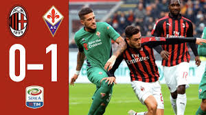 Highlights AC Milan 0-1 Fiorentina - Matchday 17 Serie A 2018/19 - YouTube
