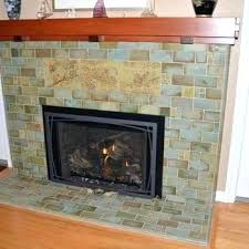 fireplace remodel contractors umber lava rock before and after c
