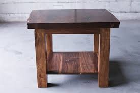 walnut end table. Walnut End Table L