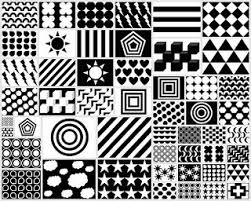 Black And White Patterns Adorable Black White Red Patterns For Your Newborn Free Printable