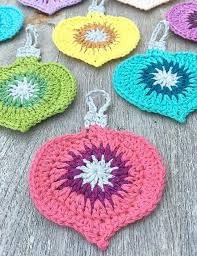 Crochet Christmas Ornaments Patterns Delectable 48 Cute Free Crochet Christmas Ornaments Patterns To Decorate Your