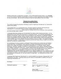 Construction Release Form Liability Release Form Form Trakore Document Templates 6