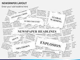 Powerpoint Newspaper Clipping Template Powerpoint Newspaper Clipping Template Magdalene Project Org