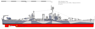 and and o higgins formerly uss brooklyn to the image s right to big upship s bell museum in chilenashville 1944 in her measure 32 21d camo