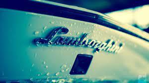 Chrome Lamborghini emblem, Lamborghini ...