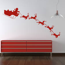 Christmas Wall Art Christmas Wall Stickers Iconwallstickerscouk