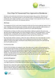 Four Ways To Turnaround Your Approach To Shutdowns Oil Gas Iq