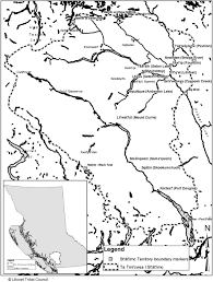 Fig 3 1 map of stl'atl'imx territory courtesy of lillooet tribal