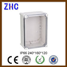 240 160 120 outdoor electrical cable box clear cover plastic waterproof abs ip66 junction box