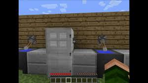 Minecraft Hoe Maak Je Een Koelkast En Lamp Youtube