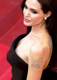 татуировки знаменитостей связанные с важнейшими событиями в их жизни