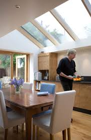 Image result for modern extension with skylights and vaulted ceiling |  Extension ideas | Pinterest | Glass roof, Extensions and Glass roof  extension