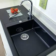 composite synthetic kitchen sink reviews sinks small images of metallic gray vs cast iron white met