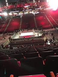 Wwe Seating Chart Toyota Center Toyota Center Section 107 Row 18 Seat 8 Monday Night